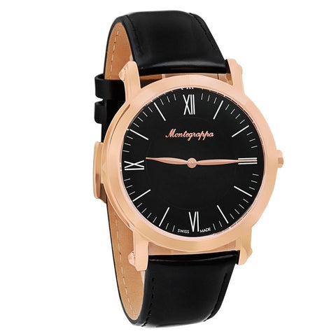 Rose Gold NeroUno Slim Swiss Made Men's Watch IDNMWARC-Luxury Watches | Mens And Ladies Luxury Watches | Upscale Time