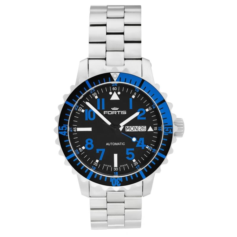 B-42 Marinemaster Blue Men's Automatic Bracelet Watch 670.15.45.M-Luxury Watches | Mens And Ladies Luxury Watches | Upscale Time