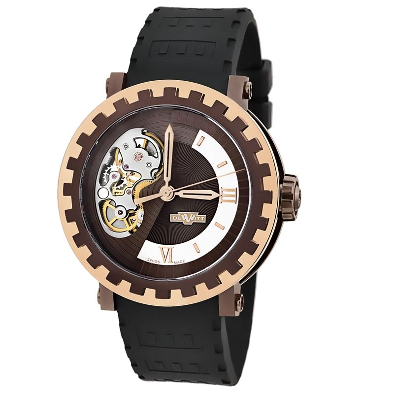Academia Mirabilis Skeleton Mens AC.MI.003 Automatic Titanium Gold Watch-Luxury Watches | Mens And Ladies Luxury Watches | Upscale Time