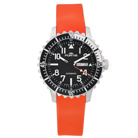 B-42 Marinemaster Black/Orange Men's Automatic Watch 670.17.41.Si20-Luxury Watches | Mens And Ladies Luxury Watches | Upscale Time
