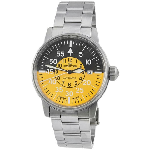 Aviatis Flieger Cockpit Yellow Automatic Men's Watch 595.11.14 M-Luxury Watches | Mens And Ladies Luxury Watches | Upscale Time