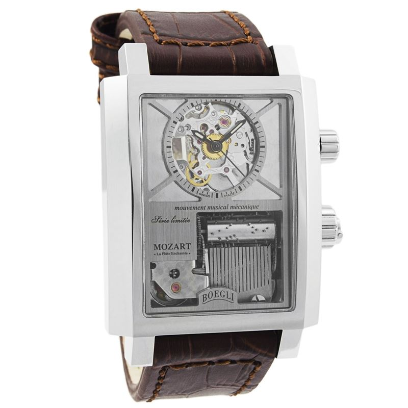 "Grand Festival Mozart ""The Magic Flute"" Manual Wound Men's Watch M.802-Luxury Watches 
