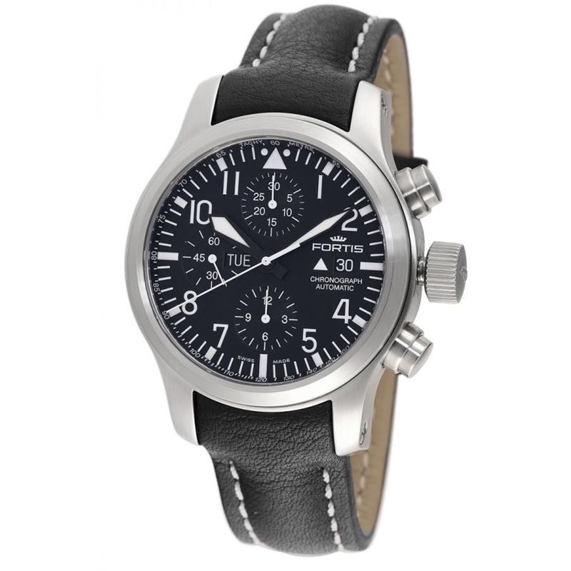 Men's F-43 Flieger Chronograph Black watch 701.10.81 L.01-Luxury Watches | Mens And Ladies Luxury Watches | Upscale Time
