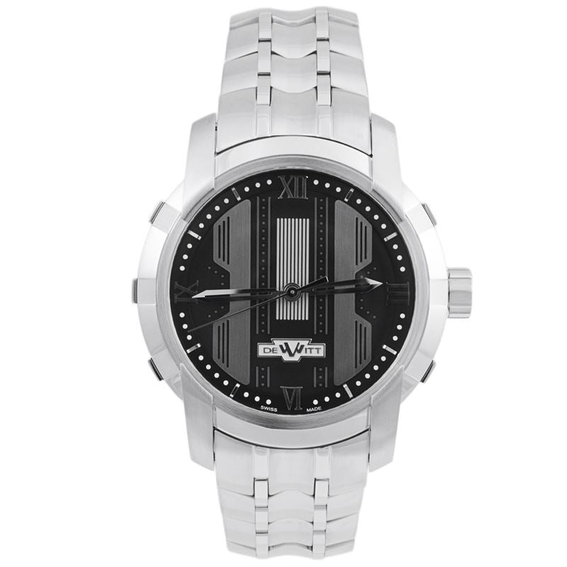 Glorious Knight Stainless Steel Black Automatic Men's Watch FTV.HMS.001.S-Luxury Watches | Mens And Ladies Luxury Watches | Upscale Time