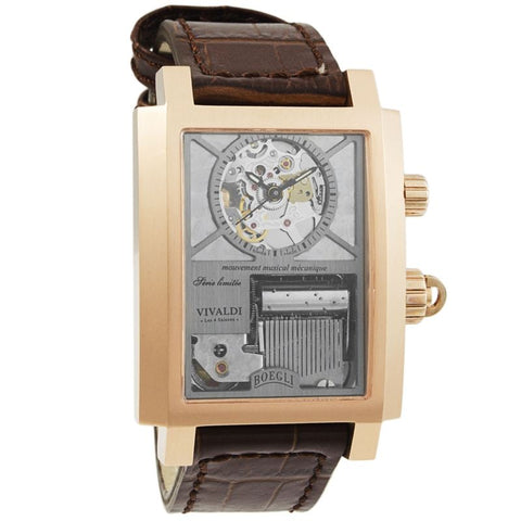 "Grand Festival Vivaldi ""The Four Seasons"" Manual Wound Men's Watch M.802-Luxury Watches 