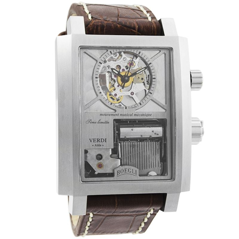 "Grand Festival Verdi ""Aida"" Manual Wound Men's Watch M.800-Luxury Watches 