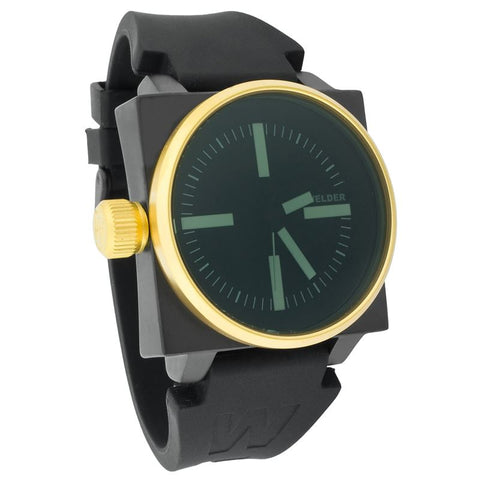 Welder Gold Plated Black Dial White Index Men's Watch K26-5101 DB GOLD/IPB T.T-Luxury Watches | Mens And Ladies Luxury Watches | Upscale Time