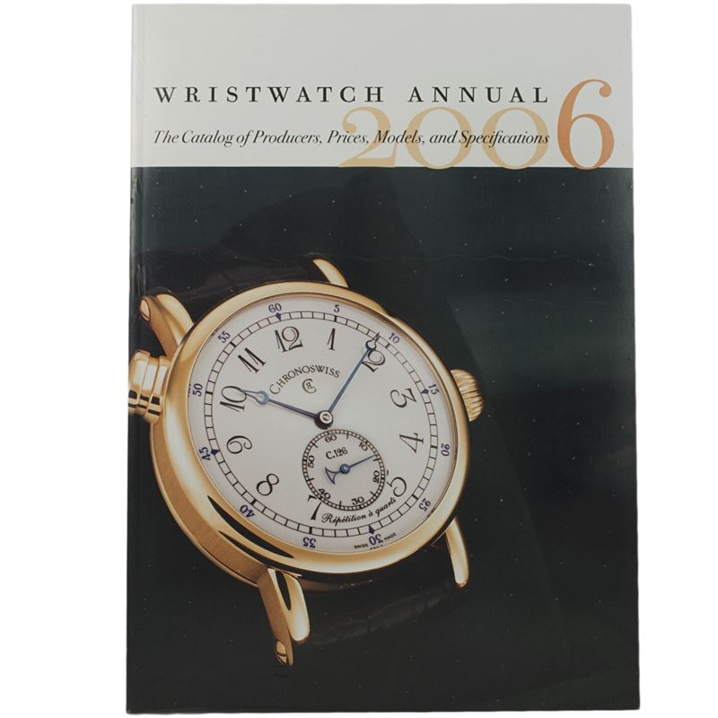 Wristwatch Annual 2006 (2005, Paperback)-Luxury Watches | Mens And Ladies Luxury Watches | Upscale Time