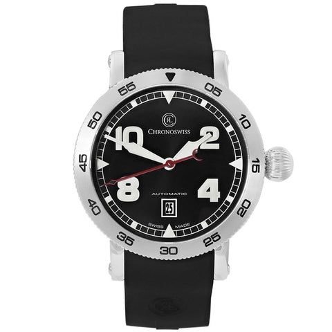 Timemaster Date Automatic Swiss Made Mens Watch CH-8643-71-2 Galvanic-Luxury Watches | Mens And Ladies Luxury Watches | Upscale Time