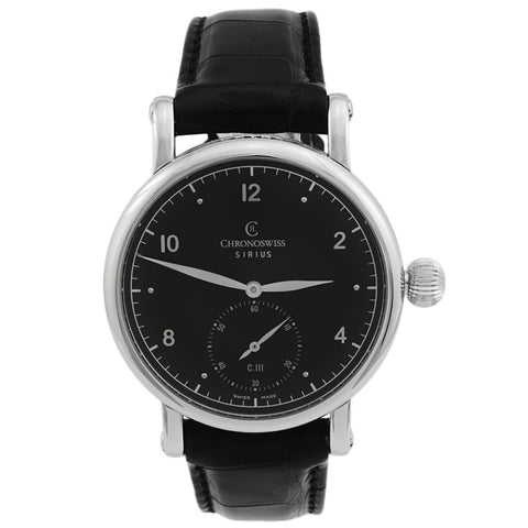 Sirius Manual Wound Men's Watch CH-1023-BK-Luxury Watches | Mens And Ladies Luxury Watches | Upscale Time