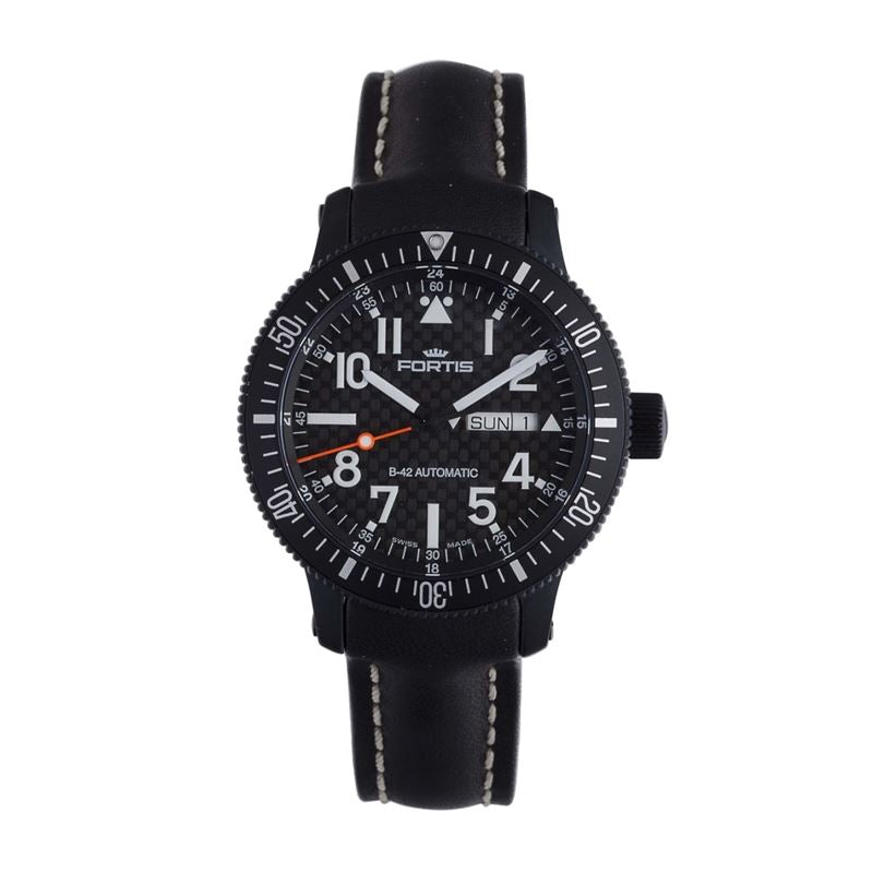 B-42 Marinemaster Automatic Date Watch Black 647.28.71 L.01-Luxury Watches | Mens And Ladies Luxury Watches | Upscale Time