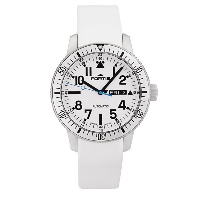 B-42 Diver White Men's Automatic Day/Date Watch 647.11.42.si02-Luxury Watches | Mens And Ladies Luxury Watches | Upscale Time