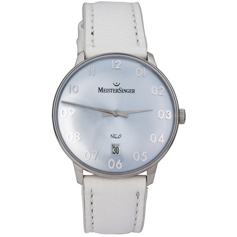 NEO Ladies Automatic Leather Date Watch NEF208 German Swiss Made-Luxury Watches | Mens And Ladies Luxury Watches | Upscale Time