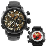 Pinup DNA Black WWII Kate Fan Chronograph Automatic Men's Watch RJ.P.CH.002.01-Luxury Watches | Mens And Ladies Luxury Watches | Upscale Time