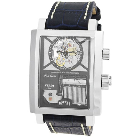 "Grand Festival Verdi ""Aida"" Manual Wound Men's Watch M.801-Luxury Watches 