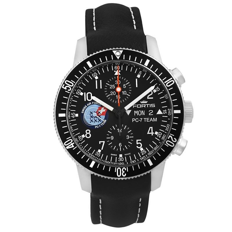 PC-7 Aviatis B-42 Swiss Air Force LE of 250 Chronograph 638.10.91 L01-Luxury Watches | Mens And Ladies Luxury Watches | Upscale Time