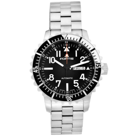 B-42 Marinemaster Black Men's Automatic Bracelet Watch 670.17.41.M-Luxury Watches | Mens And Ladies Luxury Watches | Upscale Time