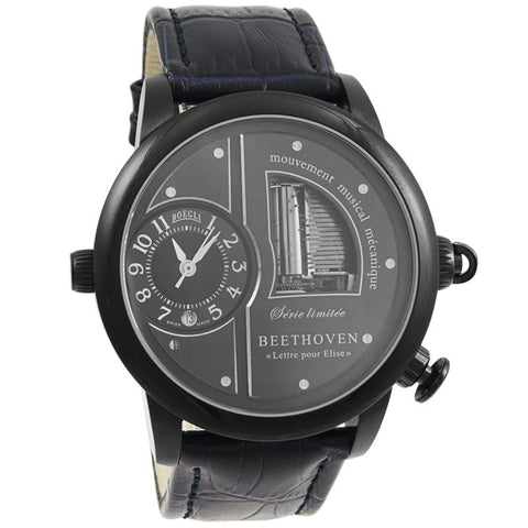 "Grand Opera Beethoven ""Fur Elise"" Limited Edition Automatic Men's Watch M.901-Luxury Watches 
