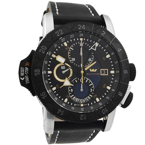 Airman Airfighter Chronograph Blue Automatic Men's Watch 3921-18-LB99B-Luxury Watches | Mens And Ladies Luxury Watches | Upscale Time