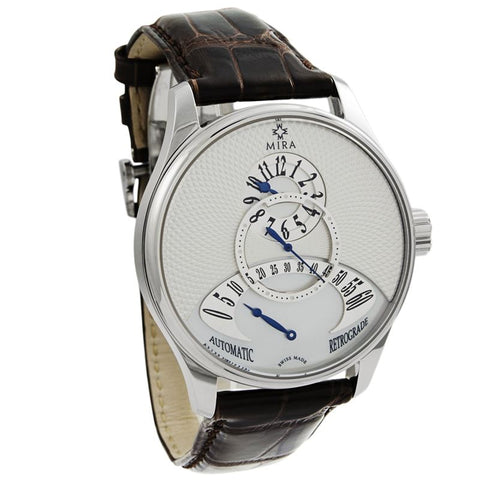 Classic Merveille De L'Espace Retrograde White Mother of Pearl Automatic Mens Watch M101SSV-Luxury Watches | Mens And Ladies Luxury Watches | Upscale Time