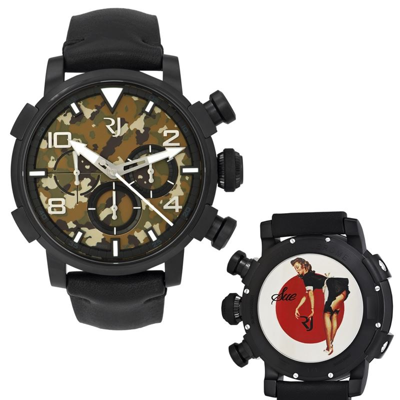 Pinup DNA WWII Sue Maid Chrono Auto Men Watch RJ.P.CH.002.01-Luxury Watches | Mens And Ladies Luxury Watches | Upscale Time