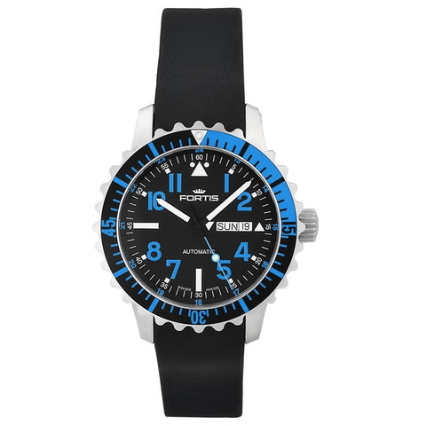 B-42 Marinemaster Blue Men's Automatic Day/Date Watch 670.15.45 K-Luxury Watches | Mens And Ladies Luxury Watches | Upscale Time