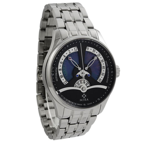 Classic Merveille De L'Espace Dual Retrograde Black Mother of Pearl Automatic Men Watch M103SBK-Luxury Watches | Mens And Ladies Luxury Watches | Upscale Time