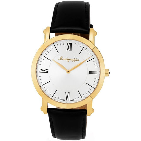 NeroUno Slim Swiss Made Men's Yellow Gold Watch IDNMWAYI-Luxury Watches | Mens And Ladies Luxury Watches | Upscale Time