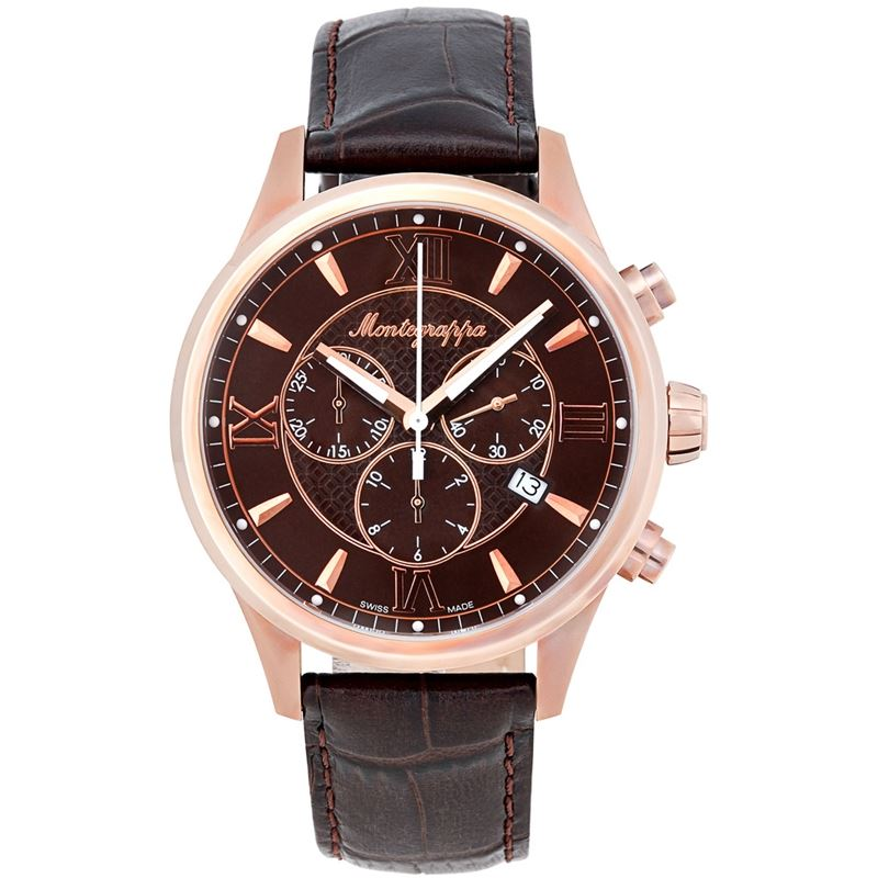 Fortuna Chronograph Men's Rose Gold Watch IDFOWCMM Swiss Made-Luxury Watches | Mens And Ladies Luxury Watches | Upscale Time