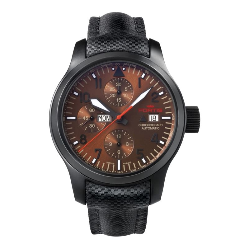 Men's Aeromaster Dusk Chronograph Black Watch 656.18.98 LP-Luxury Watches | Mens And Ladies Luxury Watches | Upscale Time