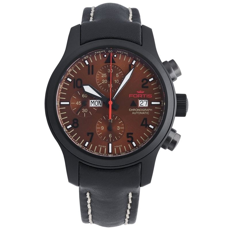 B-42 Aeromaster Black PVD Steel Mens Watch 656.18.98 L.01-Luxury Watches | Mens And Ladies Luxury Watches | Upscale Time