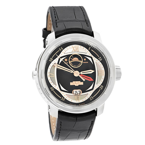 Dewitt Twenty-8-Eight Double Fuseau GMT2 Poetic Mens T8.POE.01 Automatic Watch1-Luxury Watches | Mens And Ladies Luxury Watches | Upscale Time