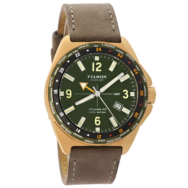 Shinola Journeyman GMT Men's Watch Made in USA F0120081480-Luxury Watches | Mens And Ladies Luxury Watches | Upscale Time