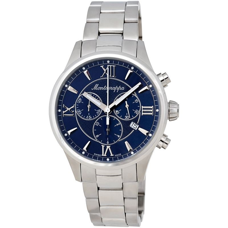 Fortuna Chronograph Men's Stainless Watch IDFOWCID Swiss Made-Luxury Watches | Mens And Ladies Luxury Watches | Upscale Time