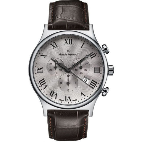 Claude Bernard By Edox Men's Classics 10217.3.AR1 Chronograph Swiss Made