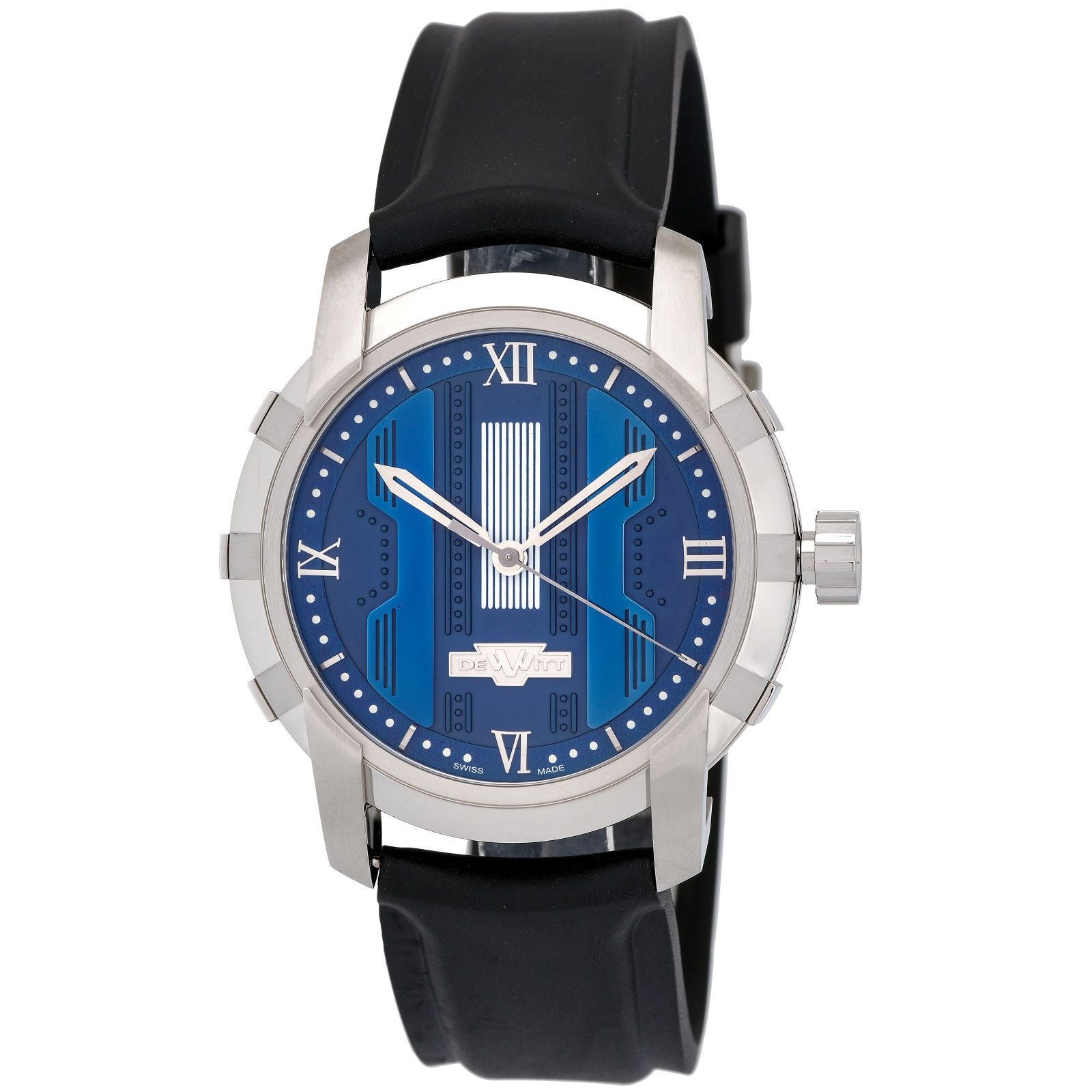 Glorious Knight Stainless Steel Blue FTV.HMS.003 Automatic Men's Watch-Luxury Watches | Mens And Ladies Luxury Watches | Upscale Time
