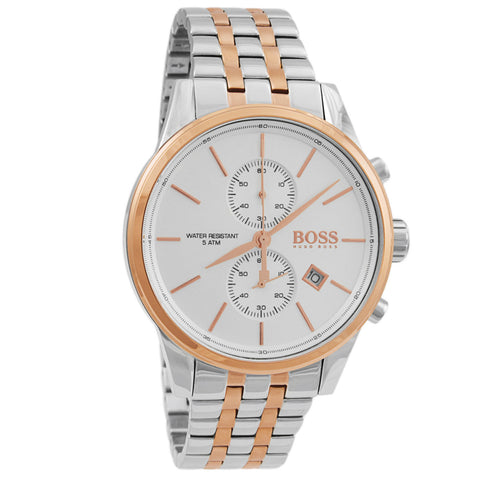 Jet Rose Gold Stainless Steel Chronograph Quartz Men's Watch 1513385-Luxury Watches | Mens And Ladies Luxury Watches | Upscale Time
