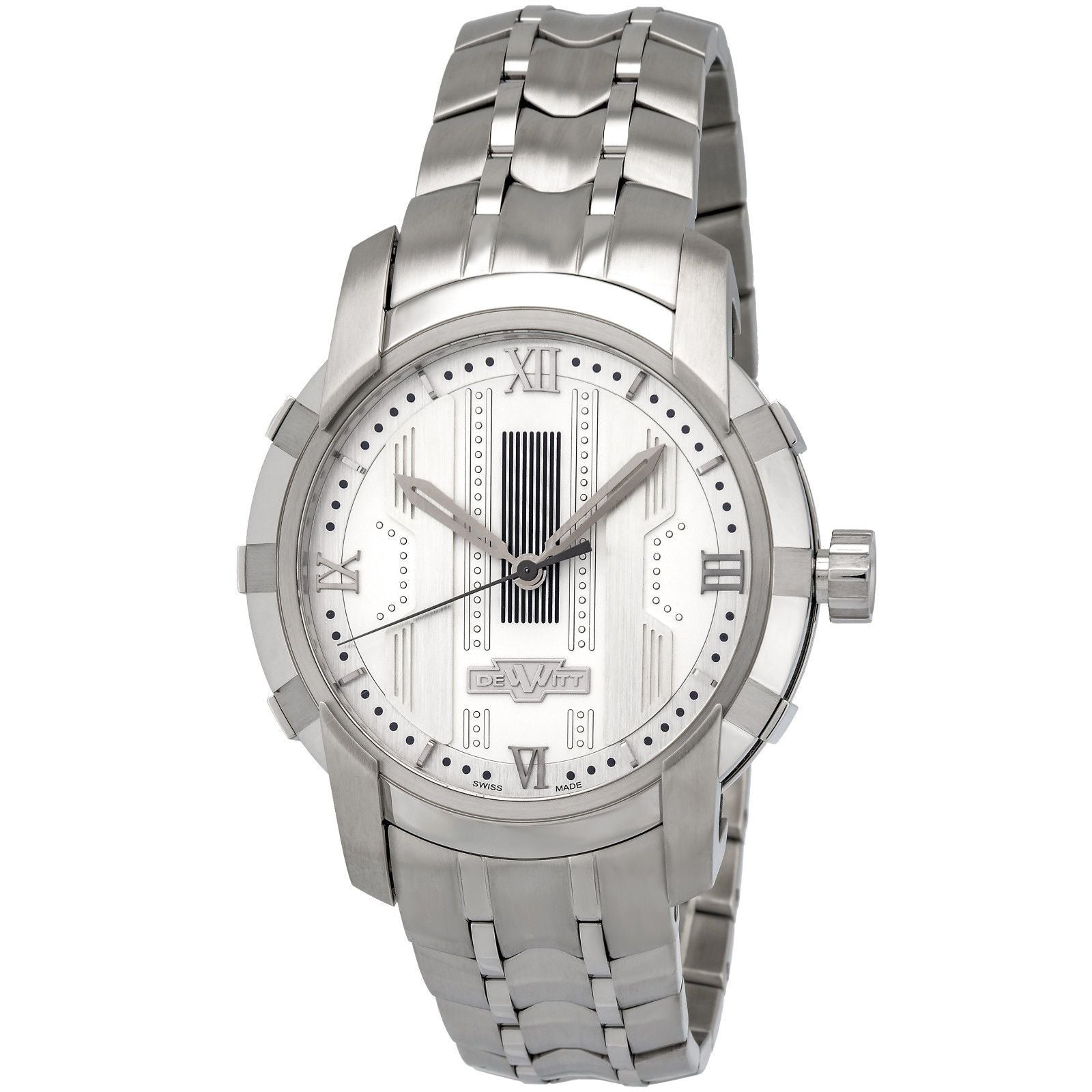 Glorious Knight Stainless Steel White FTV.HMS.002.S Automatic Men's Watch-Luxury Watches | Mens And Ladies Luxury Watches | Upscale Time