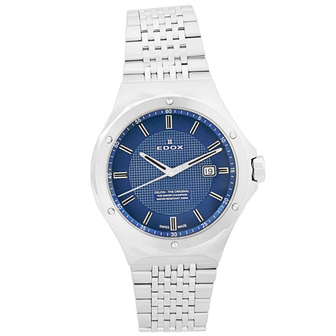Men's Delfin 200M Swiss Blue Dial Men's Watch 53005 3M BUIN-Luxury Watches | Mens And Ladies Luxury Watches | Upscale Time