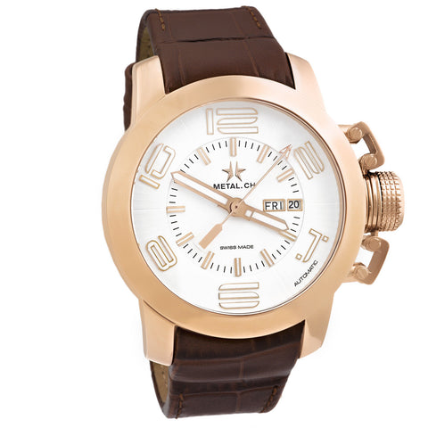 Grand Cassic Automatic Rose Gold Mens Watch Swiss 6310.44-Luxury Watches | Mens And Ladies Luxury Watches | Upscale Time