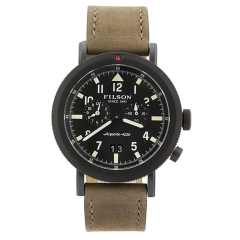 Shinola Scout Dual Time Men's Watch Made in USA F0110000339-Luxury Watches | Mens And Ladies Luxury Watches | Upscale Time