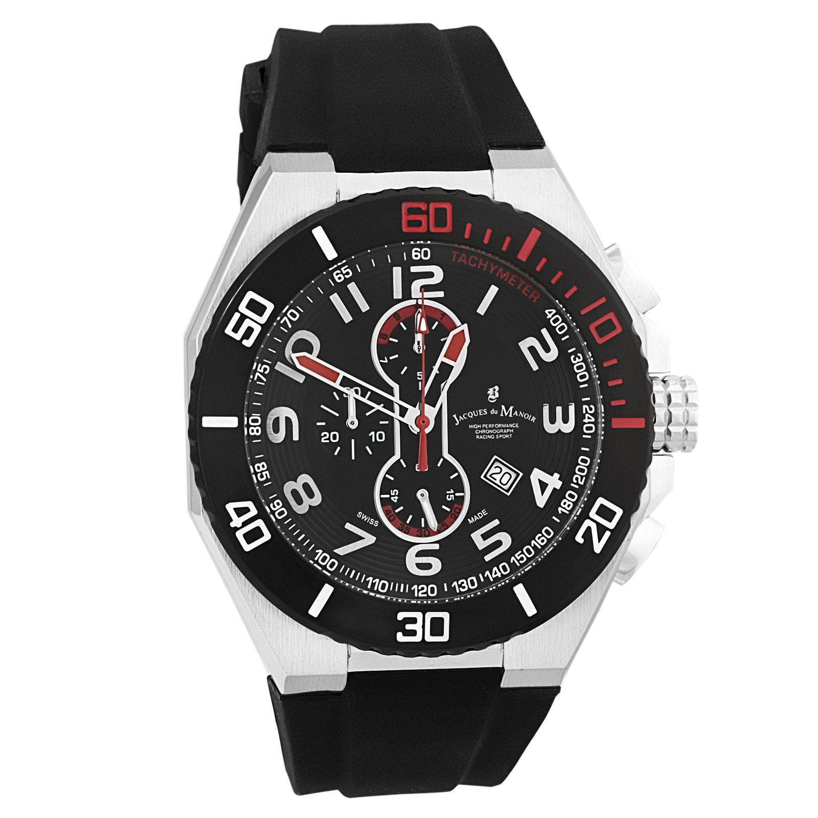 DU Manoir Men's Racing Sport Swiss Made Chronograph SP0.6 Watch-Luxury Watches | Mens And Ladies Luxury Watches | Upscale Time