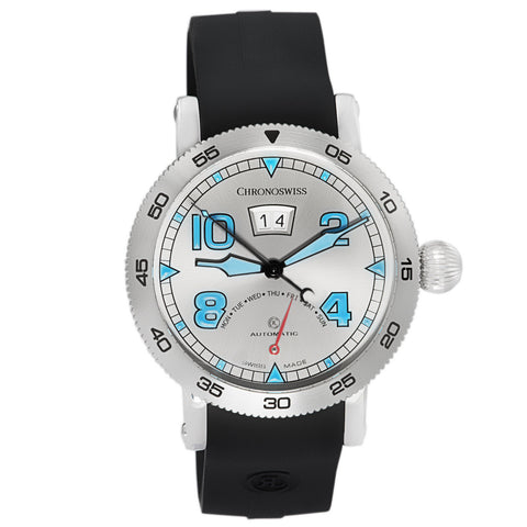 Chronoswiss Retrograde Day Automatic Swiss Made Mens Watch CH-8143 Galvanic Dial-Luxury Watches | Mens And Ladies Luxury Watches | Upscale Time