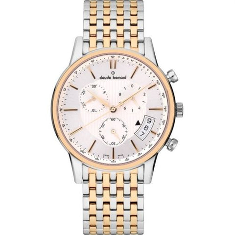 Claude Bernard By Edox Men's Sophisticated Classics Watch 01002.357RM.AIR Chrono