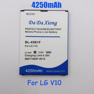 4250mAh BL-45B1F BL45B1F Battery for LG V10 H961N F600 H900 H901 VS990 H968  Replacement phone battery
