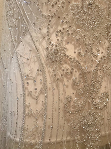Rhinestone Fabric, Full Dress Applique