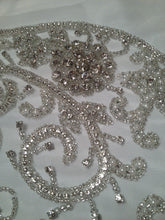 Load image into Gallery viewer, Rhinestone Applique, Beaded Large Applique