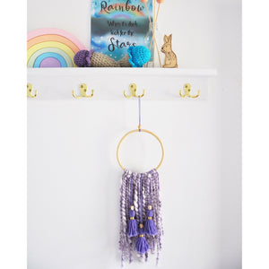 SAMPLE Chunky Tassel Wall Hanging
