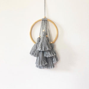 Layered Tassel Wall Hanging - Ready To Ship