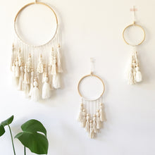 Load image into Gallery viewer, Little Cloud Lane small boho tassel wall hanging